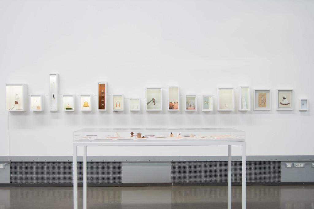 GRETHELL RASÚA, Con todo el gusto del mundo, 2004-2016, installazione, tecnica mista una boutique che ricicla i rifiuti corporali courtesy dell'artista | exhibition view, ph Francesca Renda