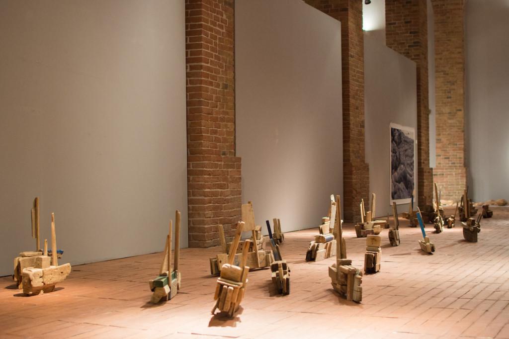 Installation view GAM | ph Francesca Renda