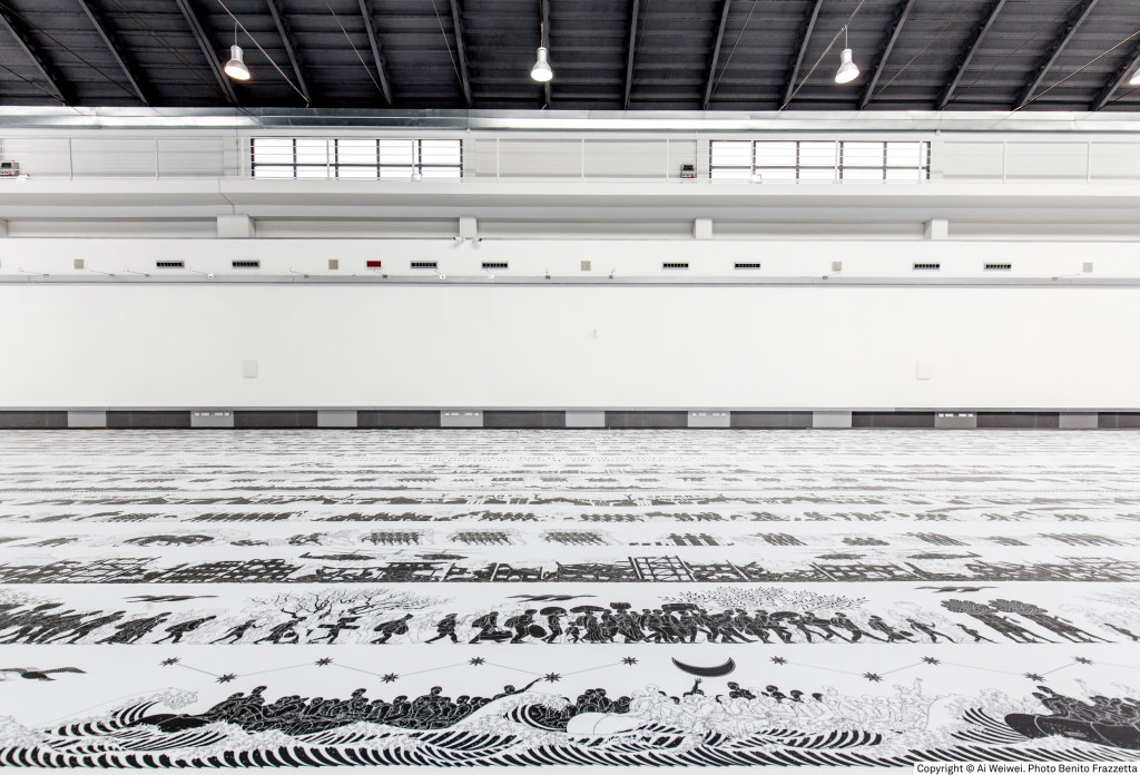 copyright © Ai Weiwei. Photo Benito Frazzetta. Exhibition view, ZAC, Palermo.