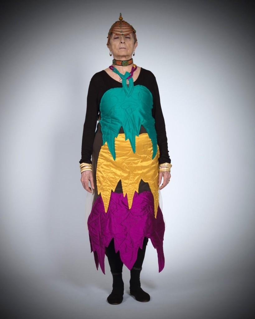 Luigi Ontani, Foglie di ontano colori yunghiani dedicati ad Anna Paparatti Sargentini. Courtesy Museo Roberto Bilotti Ruggi d'Aragona, Rende (CS)